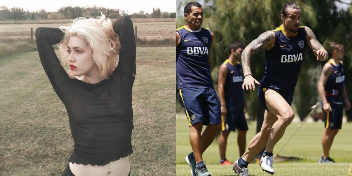 Militta Bora le dio un particular consejo a Daniel Osvaldo y sus compañeros de Boca por las constantes lesiones