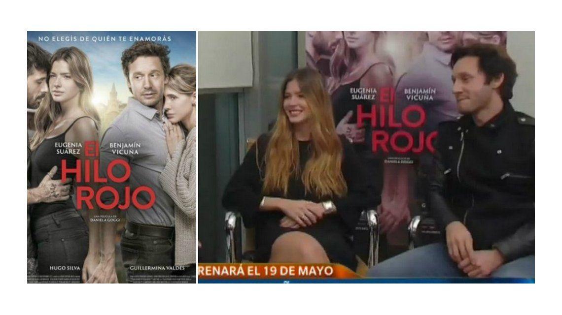 China Suárez y Benjamín Vicuña, juntos por primera vez en televisión: risas, complicidad e indirectas sobre su historia de amor