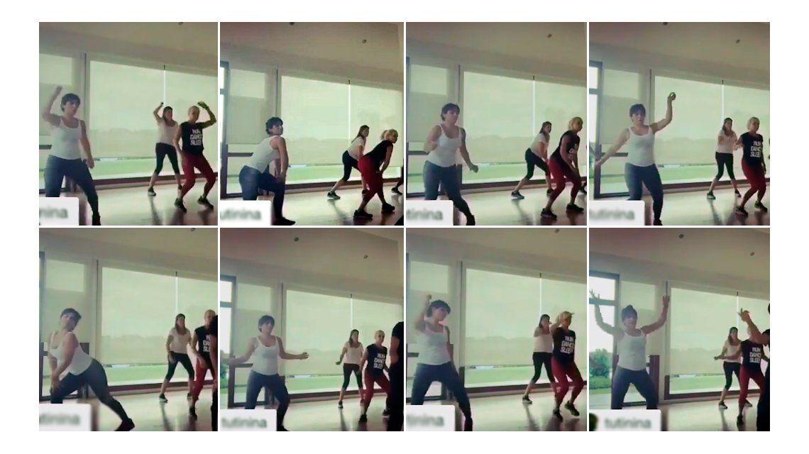 Gianinna y Claudia Villafañe, a puro ritmo en una clase de baile: Vamos las pibas