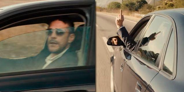 El karma de Leo Sbaraglia con una escena de Relatos Salvajes: No me animaba a bajar la ventanilla