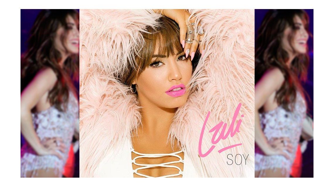 En pleno descanso, Lali Espósito develó la tapa de su segundo disco solista