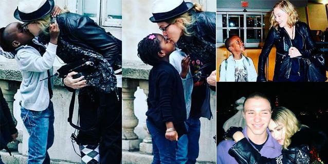 Las nostálgicas fotos de Madonna con sus hijos: Son todo