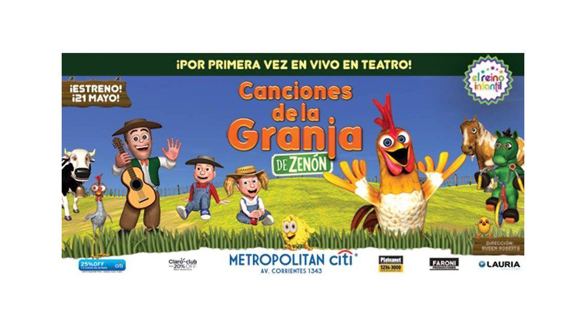 Canciones de la granja llega al Metropolitan Citi