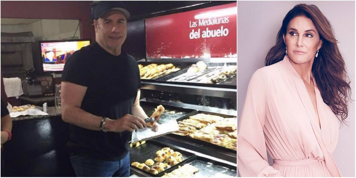John Travolta, de paseo por Buenos Aires mientras en Estados Unidos lo vinculan con Caitlyn Jenner