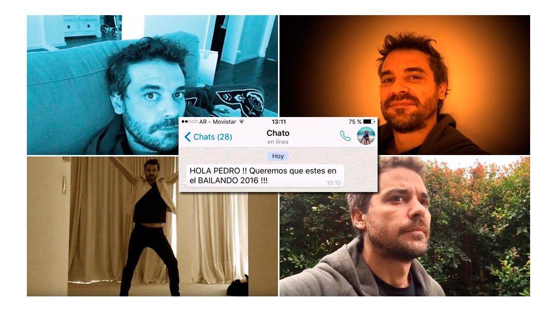 Pedro Alfonso confirmó su participación al Bailando con un desopilante video