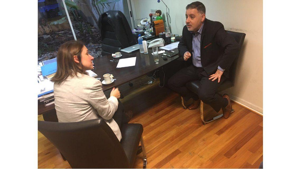Fabián Doman y Fernanda Iglesias se reunió para que ella vuelva a Nosotros a la mañana después del cachetazo