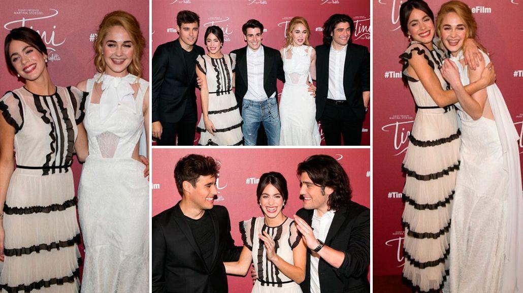 A los 19 años, Tini Stoessel se vistió de señora en la presentación de su nueva película