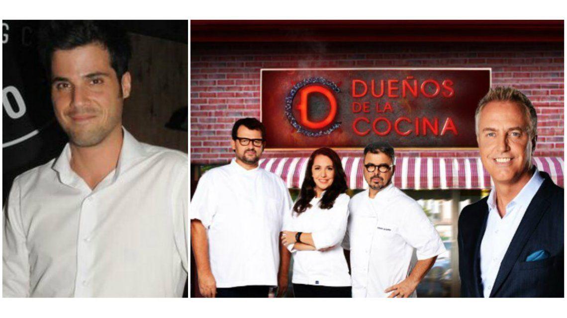 Alejo Lagouarde, de MasterChef, criticó a Dueños de la cocina: Son todos muy amateurs
