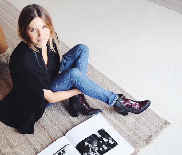 A un mes de ser mamá, Marcela Kloosterboer volvió a trabajar y mostró la primera foto de su hija