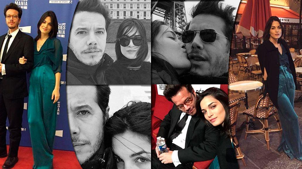 Las románticas vacaciones de Sebastián Ortega y su novia en París