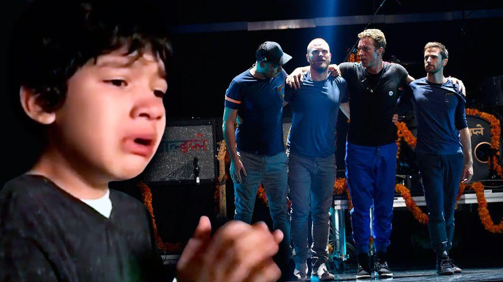 Un nene con autismo conmocionó a Coldplay: el mensaje del grupo