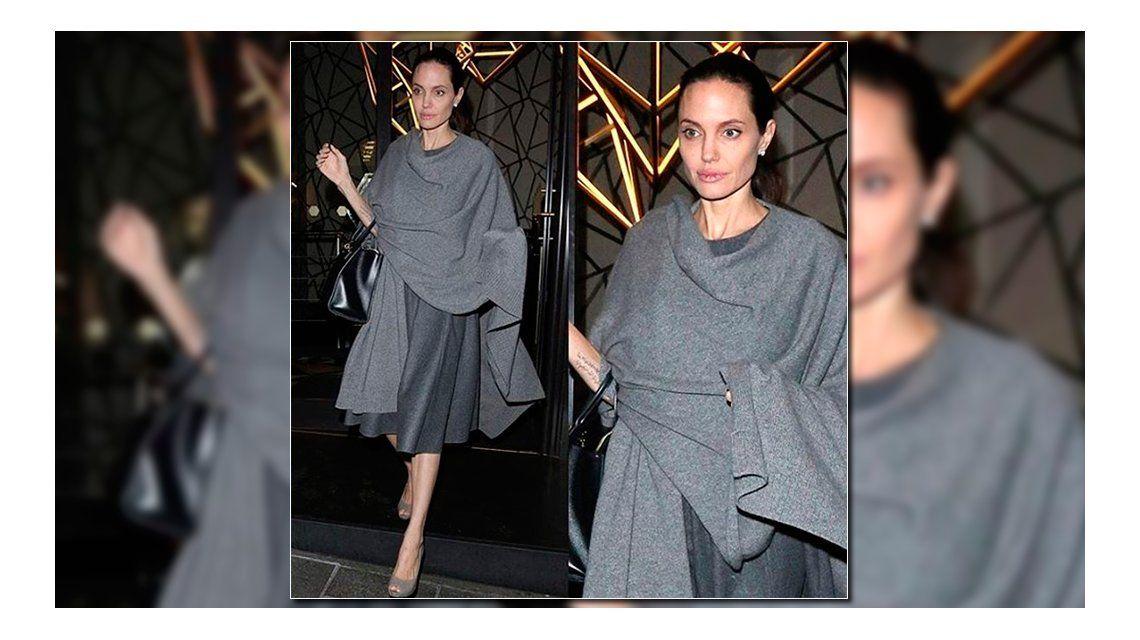 Angelina Jolie reapareció tras su supuesta internación por anorexia