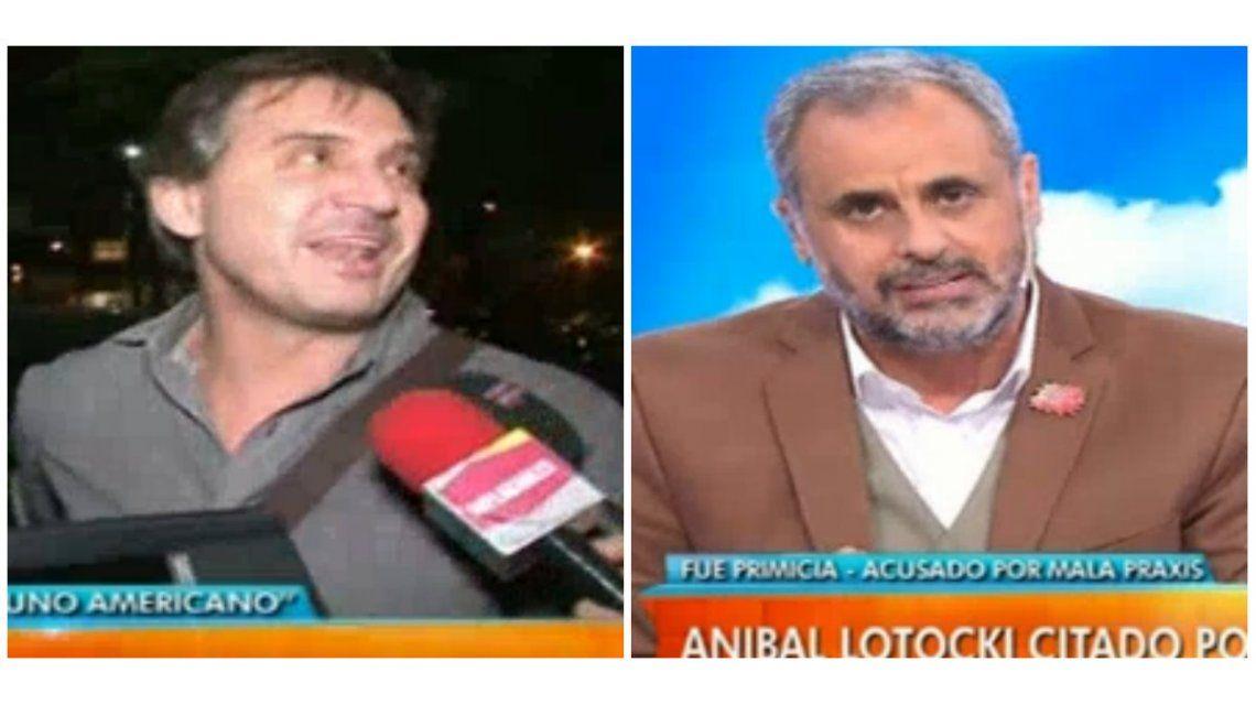 Aníbal Lotocki mencionó a Jorge Rial en una nota y el conductor salió al cruce: Quien te cita es un juez, no yo