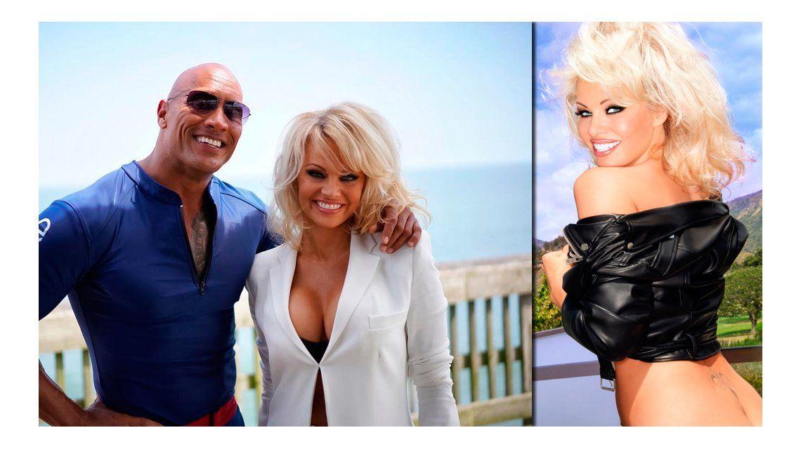 Más sexy que nunca, Pamela Anderson vuelve a Baywatch: mirá su figura