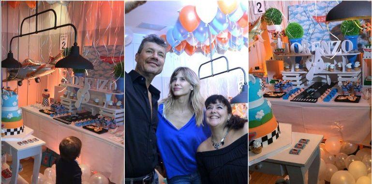 El divertido festejo de cumpleaños de Lolo Tinelli: exclusiva ambientación y ¡papás felices!