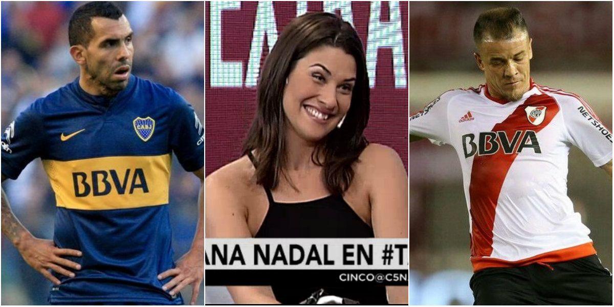 Ivana Nadal palpita el Superclásico: No voy a dar el pronóstico pero ganamos
