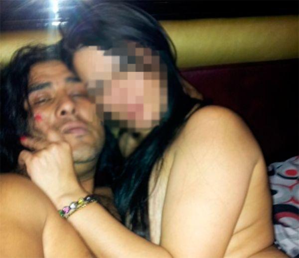 Se viralizan fotos prohibidas de un cantante de cumbia