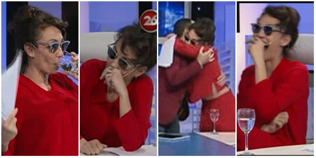 Ernestina Pais, desbordada en TV: orzuelo, fiebre, lentes oscuros y palos para todos