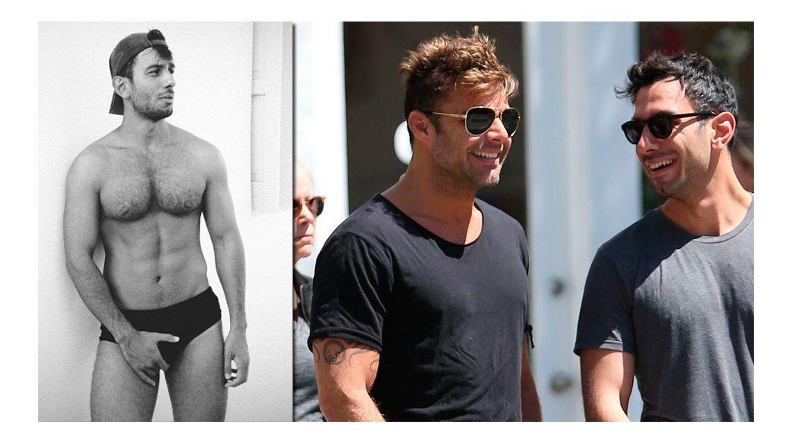 Filtran fotos del nuevo novio de Ricky Martín totalmente desnudo