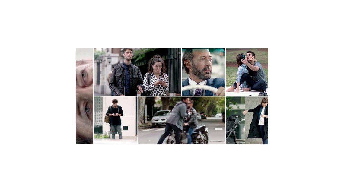 Guillermo y Nicolás Francella, en un emocionante corto: ¿Qué nos pasa? Mirarse a los ojos es tanto