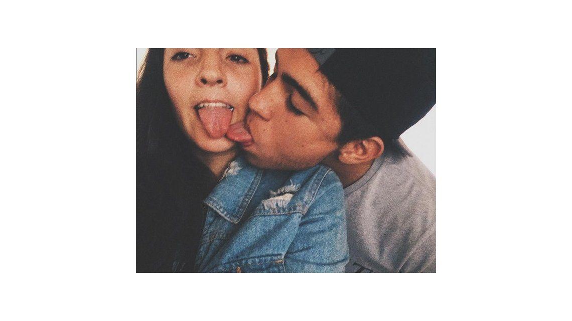 El chape hot de Jana Maradona y su novio: Soy muy feliz con esta personita