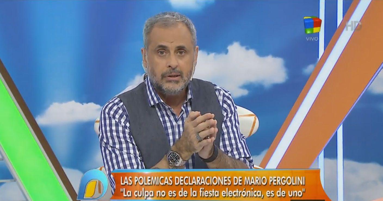 Jorge Rial, sobre la legalización de la droga: Estoy más cerca de estar de acuerdo