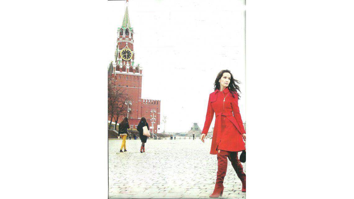 Natalia Oreiro, de viaje: Perdí la cuenta de mis visitas a Rusia, pero deben ser más de quince