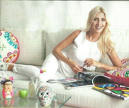 Candela Ruggeri, recién mudada: conocé cómo es su departamento de soltera