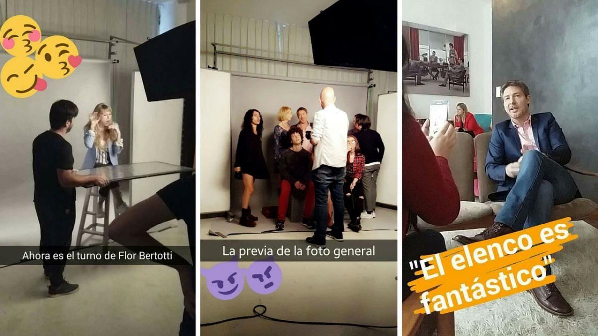 Adrián Suar comenzó a grabar el nuevo unitario: Tiene toques muy nuestros, de la familia argentina
