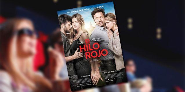 No elegís de quién te enamorás: mirá el póster oficial de El Hilo Rojo con la China Suárez, Benjamín Vicuña, Guillermina Valdes y Hugo Silva
