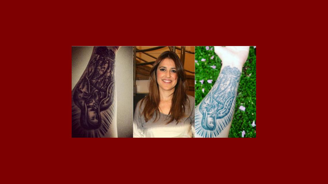 El impresionate tatuaje místico de Maju Lozano: Sueño cumplido