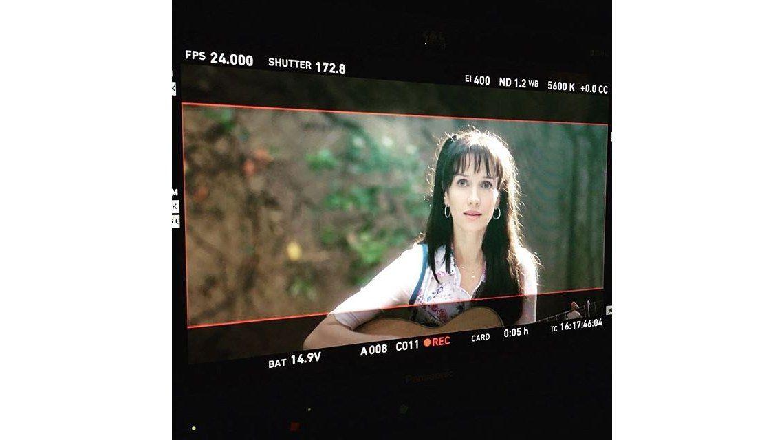 ¡Estás igual! El increíble cambio de look de Natalia Oreiro para la película de Gilda