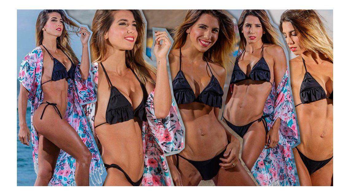 ¡Diosa! Cinthia Fernández calienta las playas de Chile con una producción muy sensual