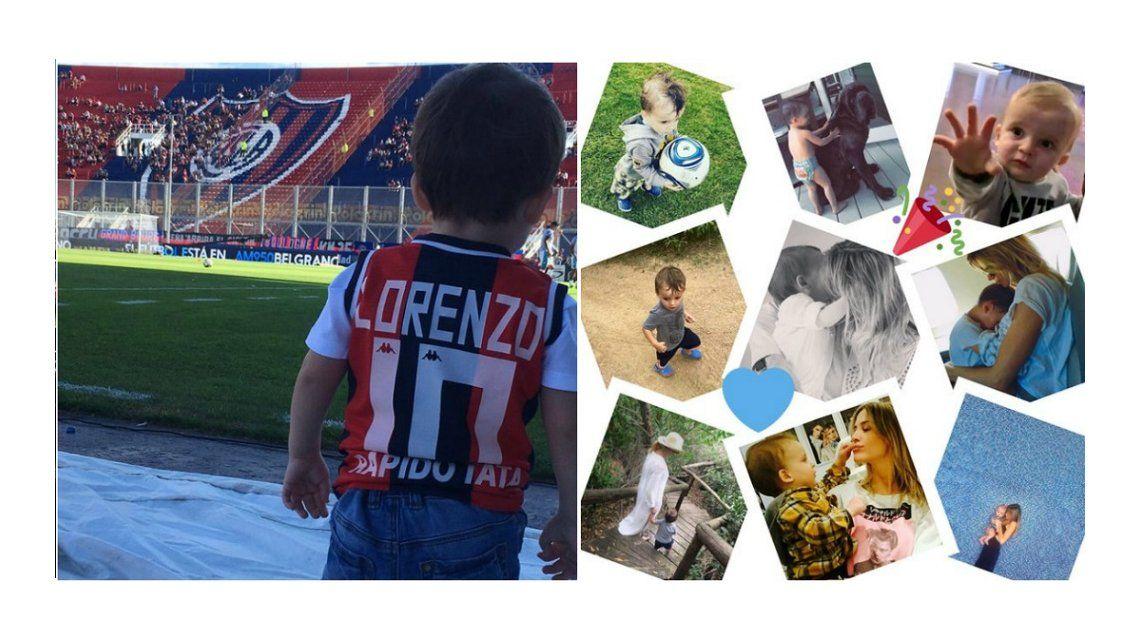 Lorenzo cumplió dos años: los emotivos mensajes de Marcelo Tinelli y Guillermina Valdes