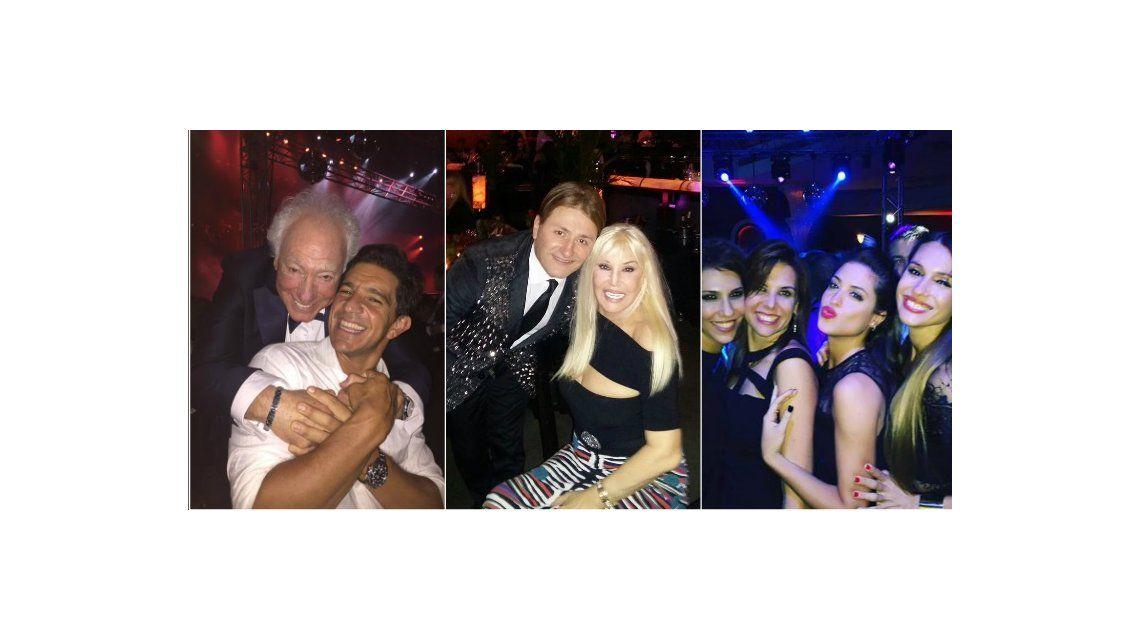 La fiesta de casamiento de Guillermo Coppola y Corina Juárez: Susana Giménez, invitada de lujo