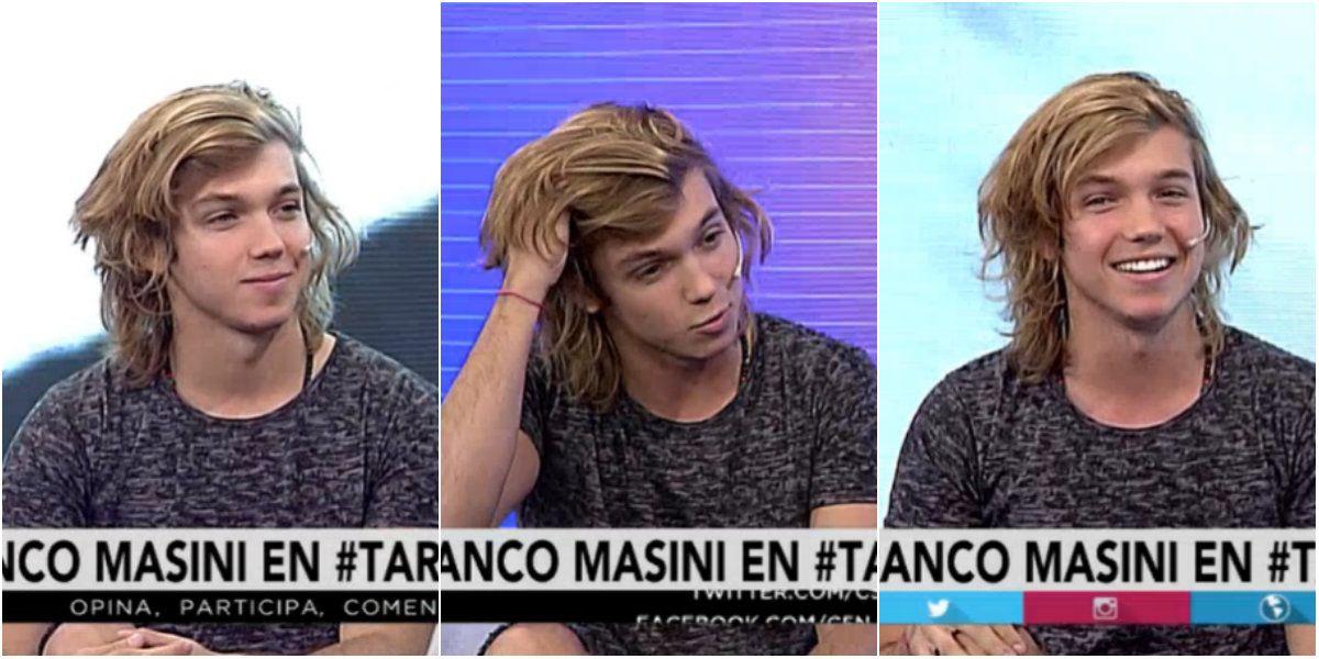 Franco Masini reveló: Me chaparía a una fan