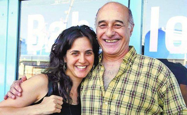 Julieta Díaz y su papá Ricardo llevarán su relación a la pantalla chica