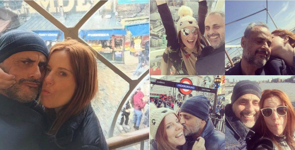 Romántico mensaje de Jorge Rial por el cumpleaños de Agustina Kämpfer: Llegaste a mi vida como un rayo que me partió al medio