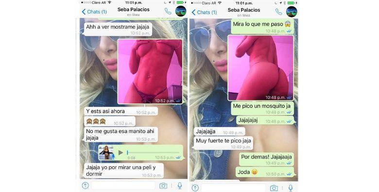 Bailarina de Pasión de Sábado escrachó a un jugador de Boca y su novia lo dejó