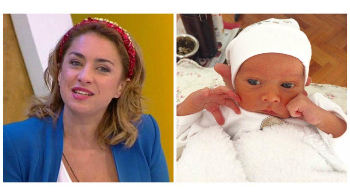 El verborrágico relato de María Julia Olivan sobre su flamante maternidad: Creo que enloquecí
