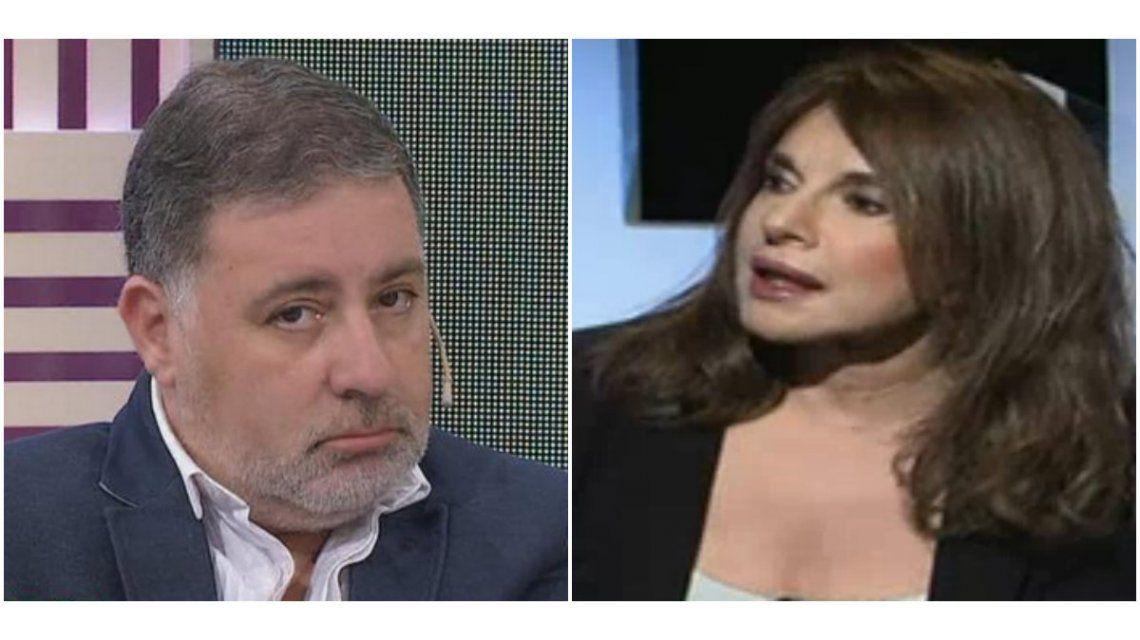 Leonor Benedetto, lapidaria con Fabián Doman: ¿Sex symbol de dónde? Miro eso y digo  dios mio