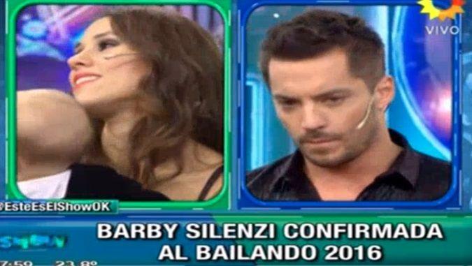 Barby Silenzi, confirmada para el Bailando 2016: la reacción de Francisco Delgado