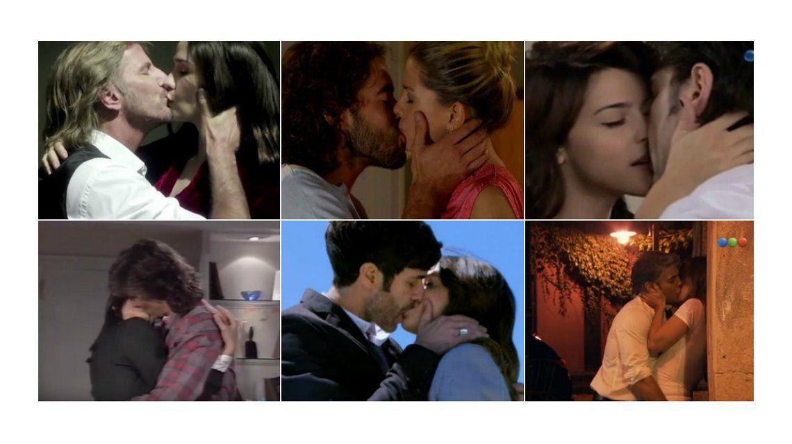 ¿Qué beso te gustó de la televisión argentina?