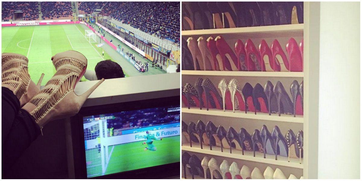 La colección de zapatos de Wanda Nara en fotos y números: ¿cuánto lleva gastado sólo en Valentino?