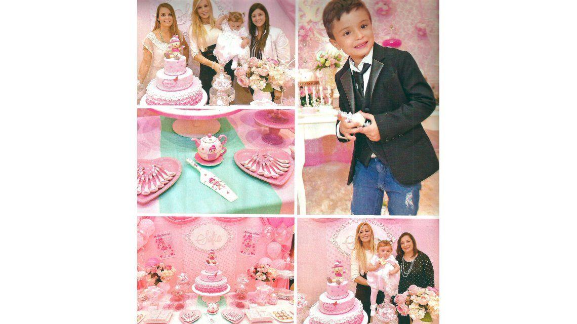Panam festejó el primer cumpleaños y el bautismo de su hija Sofía