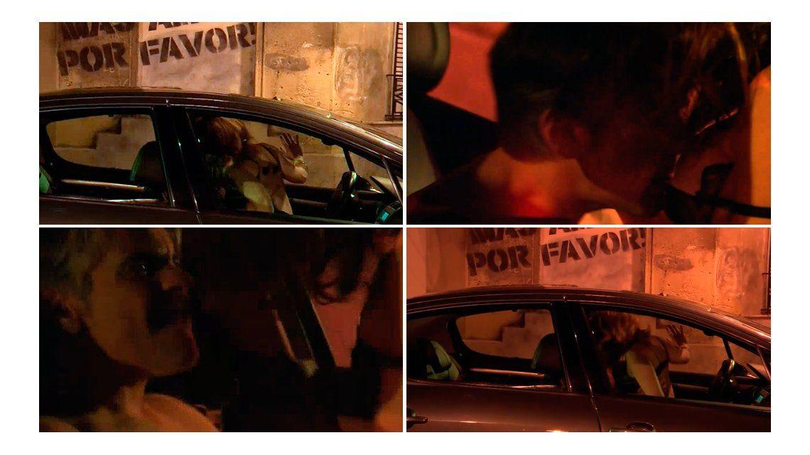 Llegó el momento más hot de Pablo Echarri y Nancy Dupláa: tuvieron sexo feroz en un auto