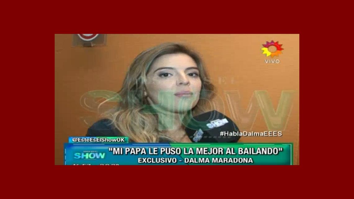 Dalma Maradona, convocada para ir al Bailando: Tuve una re linda reunión, estoy esperando a ver qué pasa