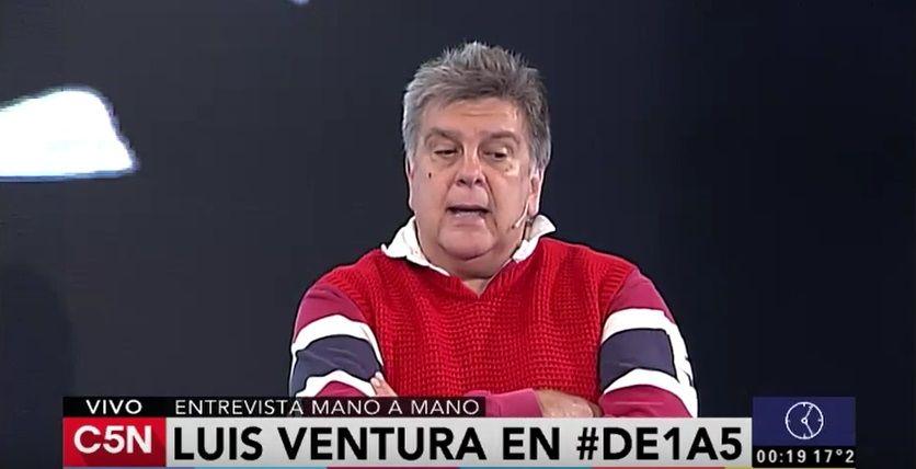 Luis Ventura: Me agarré a trompadas muchas veces en mi vida; tengo media dentadura postiza