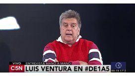Luis Ventura: Me agarré a piñas muchas veces; tengo media dentadura postiza