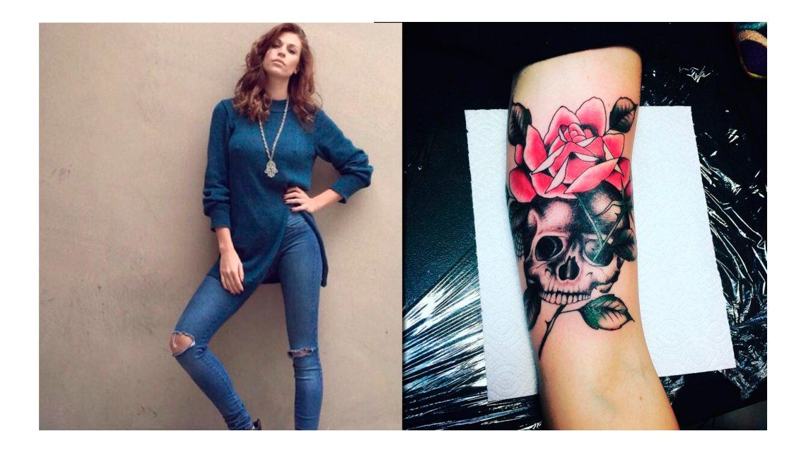 ¿Qué significa el nuevo tatuaje de Juliana Giambroni?: Let it burn